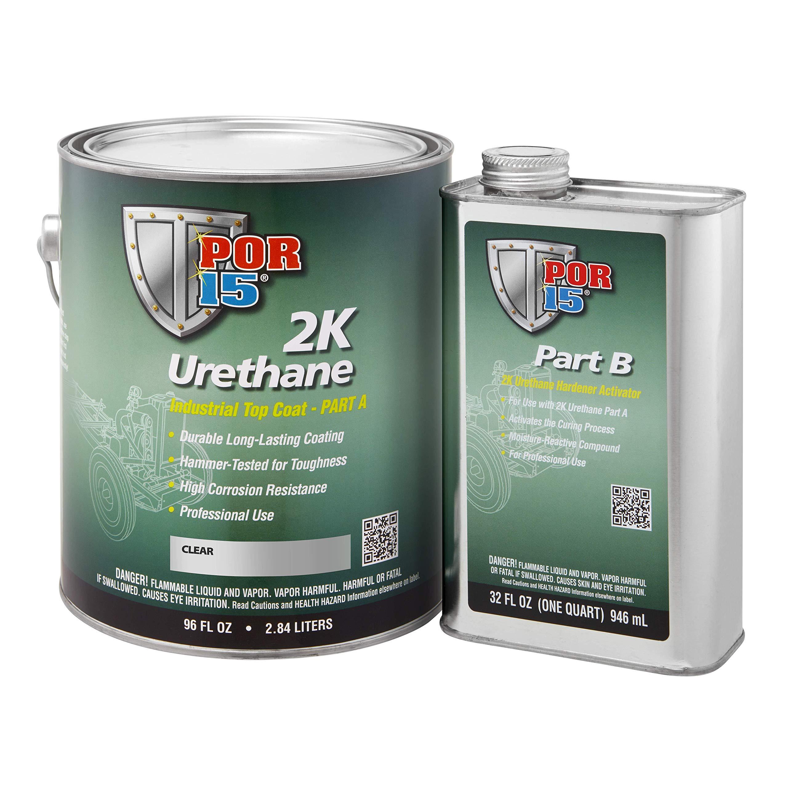 POR-15 43501 Clear 2K Urethane - 1 gal