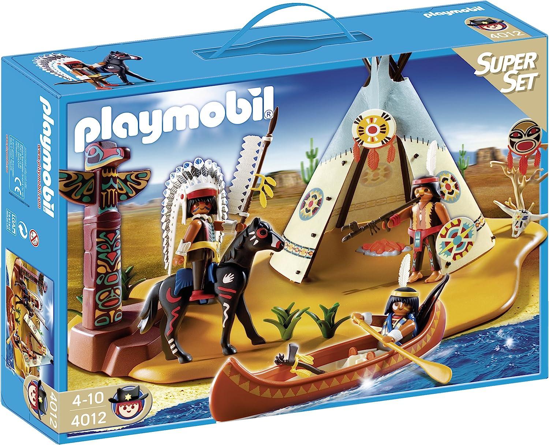 PLAYMOBIL - SuperSet Campamento Indio (4012)