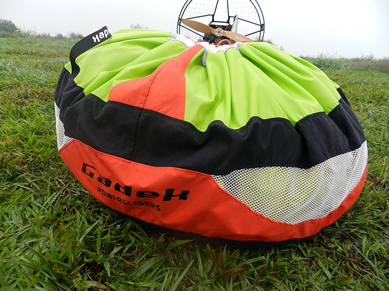 Gadek Fast Stuff Sack for Paragliding Paramotor PPG powered garaglider (Red)