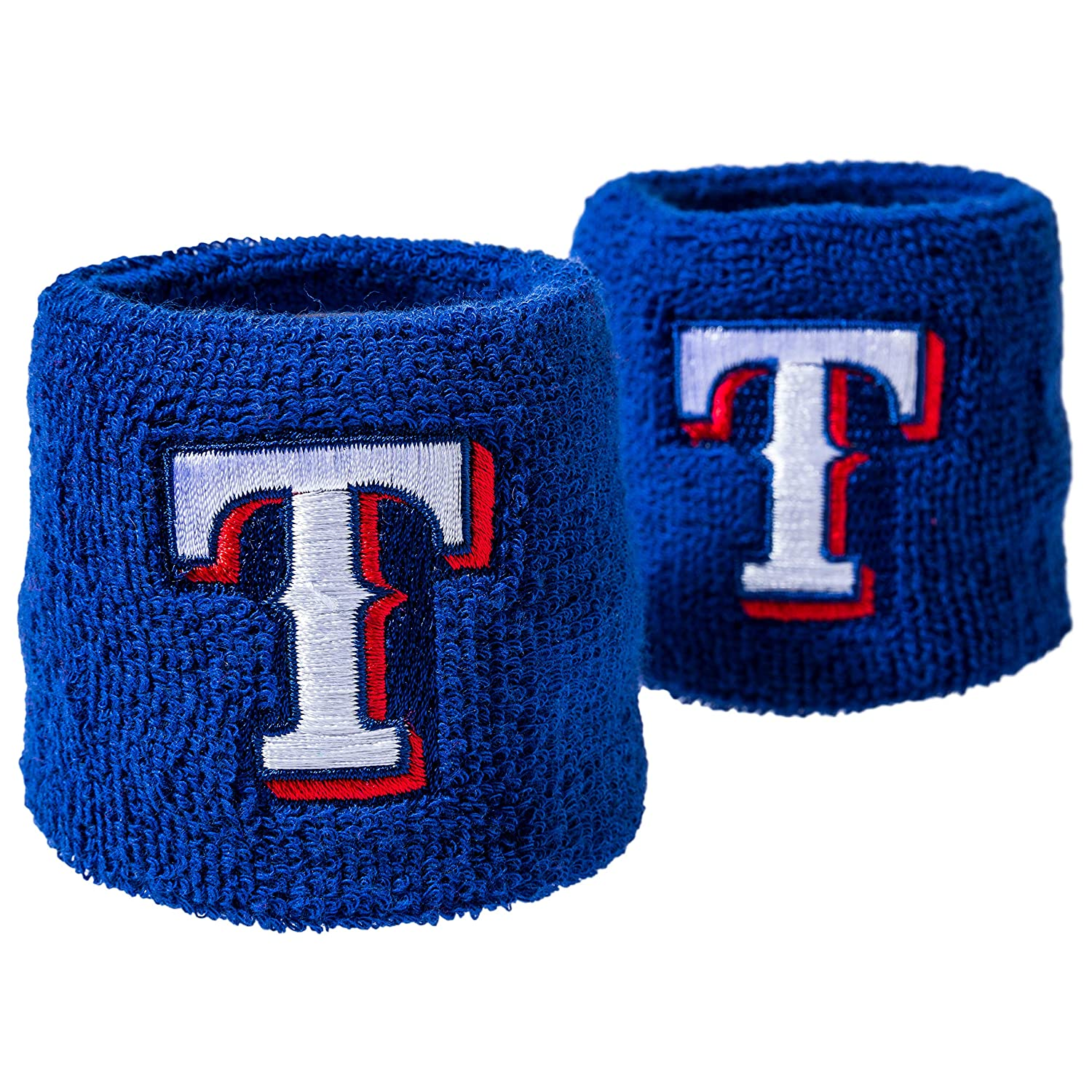 Great for Costumes Pair Uniforms MLB Team Logo Sweat Wristbands Franklin Sports MLB Team Licensed Baseball Wristbands
