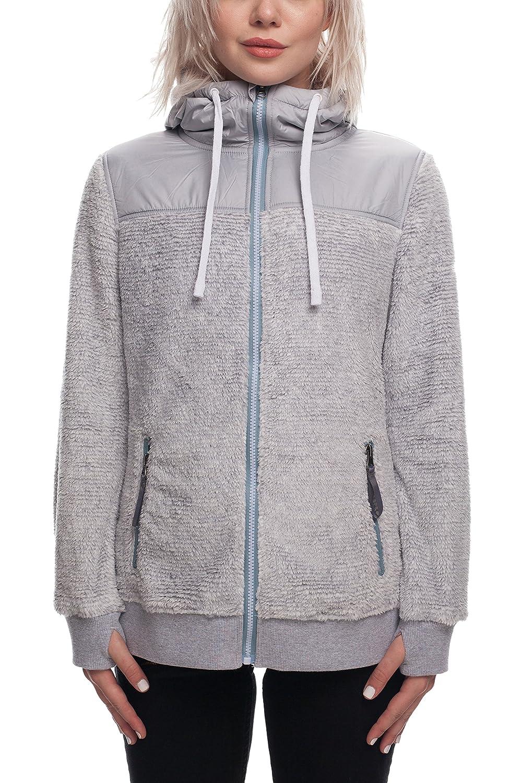 Image of 686 Women's Flo Polar Zip Fleece Hoody | Waterproof Zip-up Jackets Fleece
