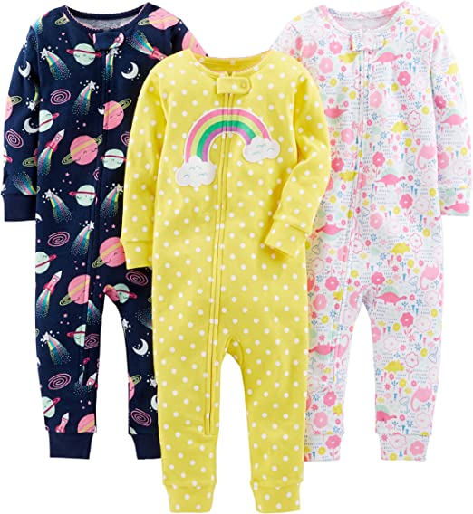 Racer Cars//Space//Dino Simple Joys by Carters infant-and-toddler-pajama-sets 2T