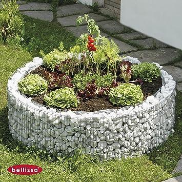 Gabionen Hochbeet Für Garten Balkon 7292 Cm Zink Aluminium