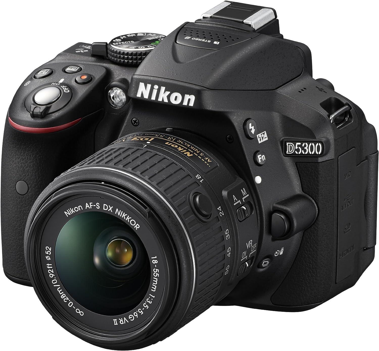 Nikon D5300 Slr Digitalkamera Kit Inkl Af S Dx 18 55 Camera Photo