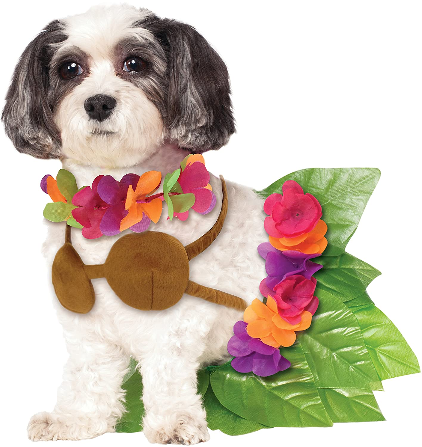 Rubies Costume Company Hula Girl Pet Costume Small 580076 S