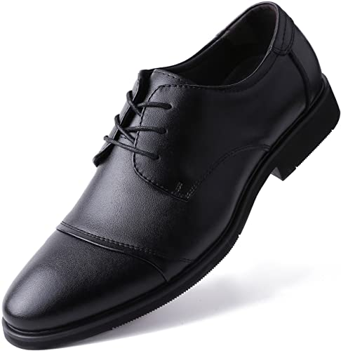 Amazon Com Marino Oxford Dress Shoes For Men Formal Leather Mens