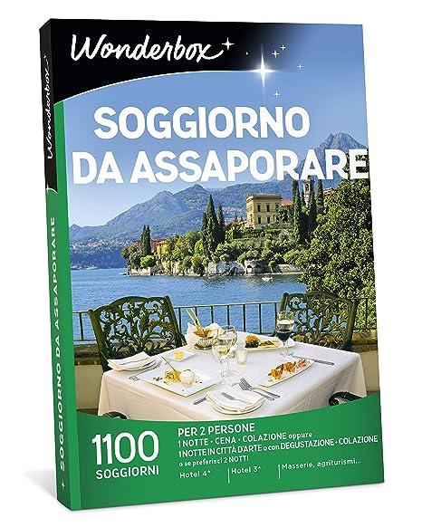 WONDERBOX Cofanetto Regalo - Soggiorno da ASSAPORARE - 1100 ...