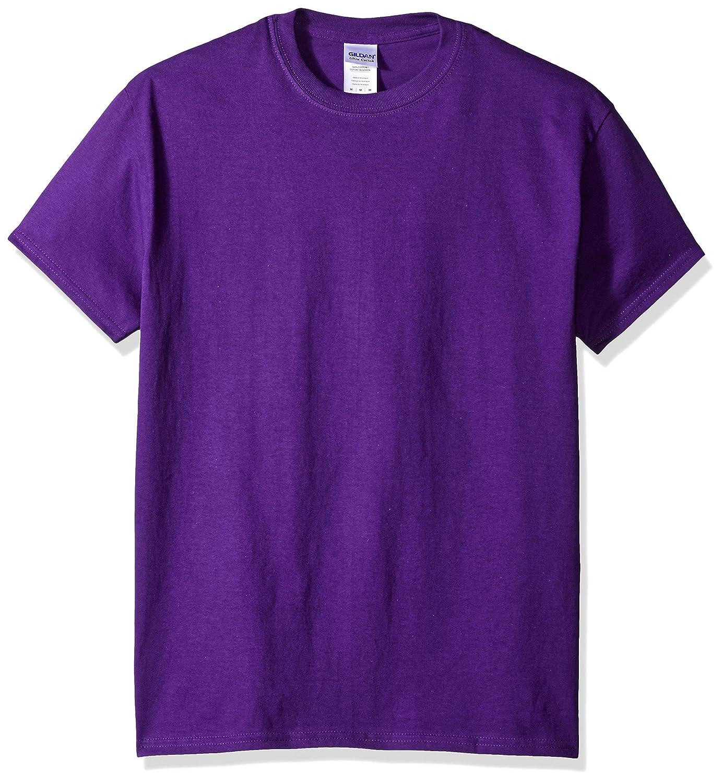 (ギルダン) Gildan メンズ ウルトラコットン クルーネック 半袖Tシャツ トップス 半袖カットソー 定番アイテム 男性用 B009LJU6NW 6L|パープル パープル 6L