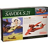 Porco Rosso - Savoia S.21 - 1/72 Pre-Painted Model Kit