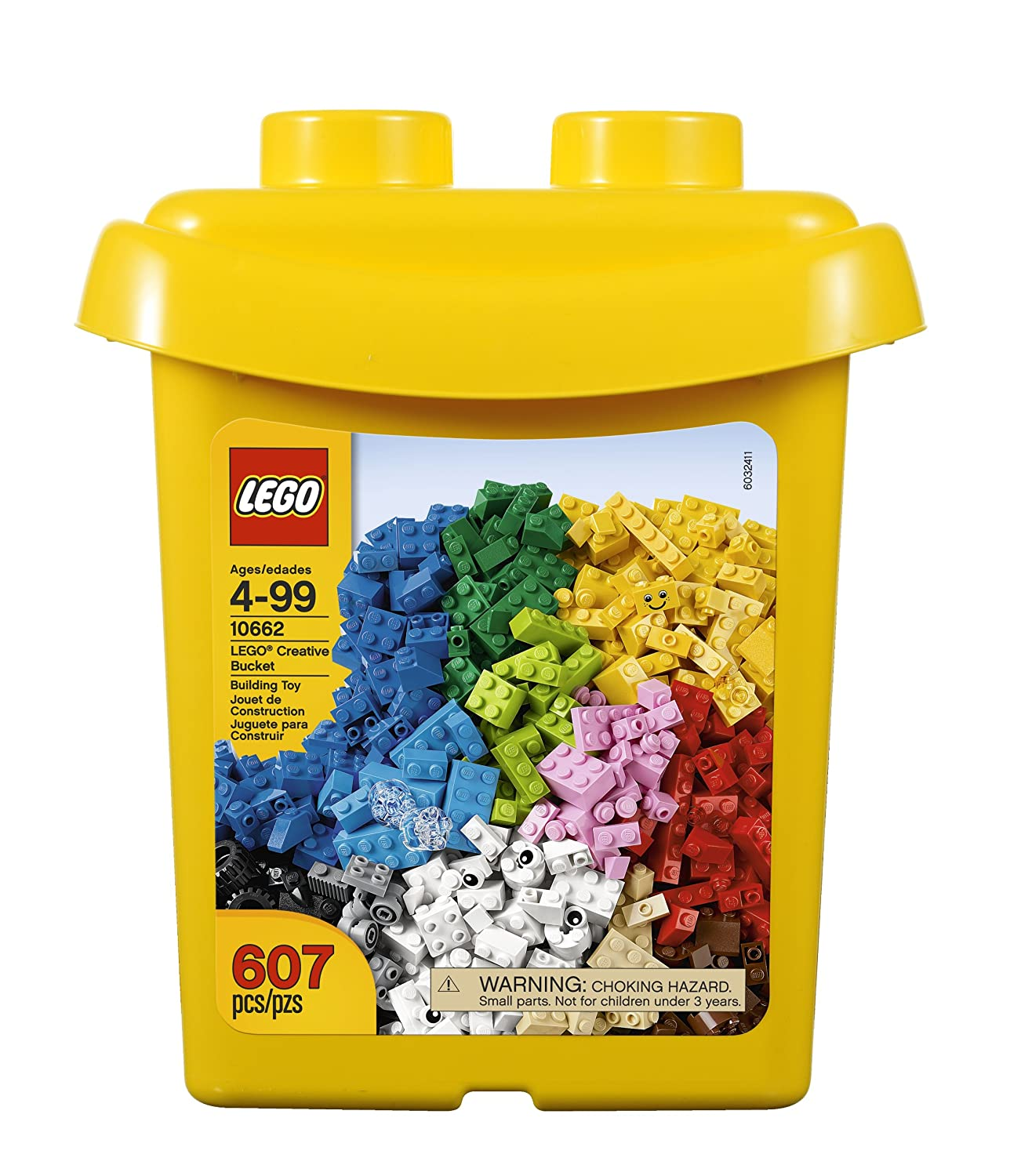 Amazon LEGO Bricks & More Creative Bucket Toys & Games