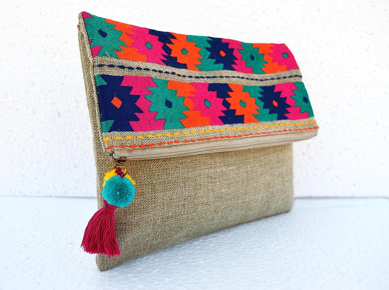 VLiving Boho ropa de bolsa, bolsa, Kilim, diseño marroquí ...
