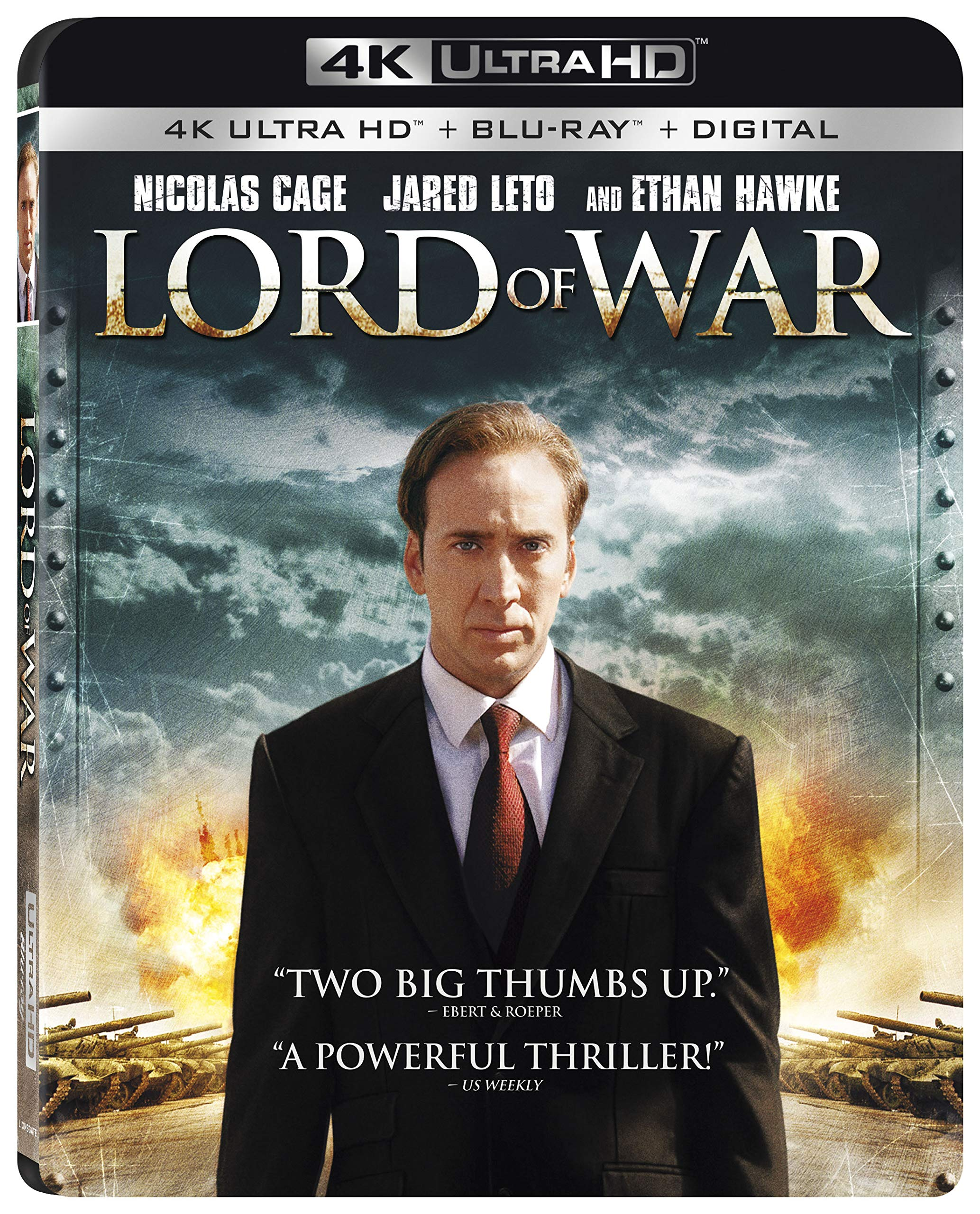 4K Blu-ray : Lord Of War (With Blu-ray, 4K Mastering, 2 Pack, Dolby, Widescreen)