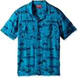 UNIONBAY Men's Classic Short Sleeve Rayon Button-up