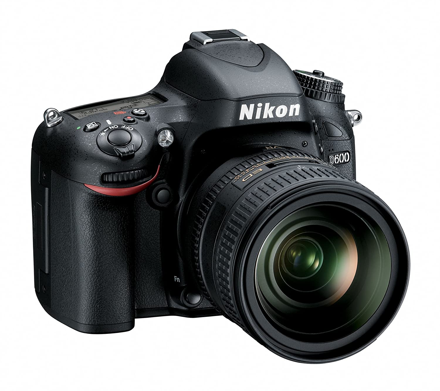 Amazon.com : Nikon D600 24.3 MP CMOS FX-Format Digital SLR Camera ...