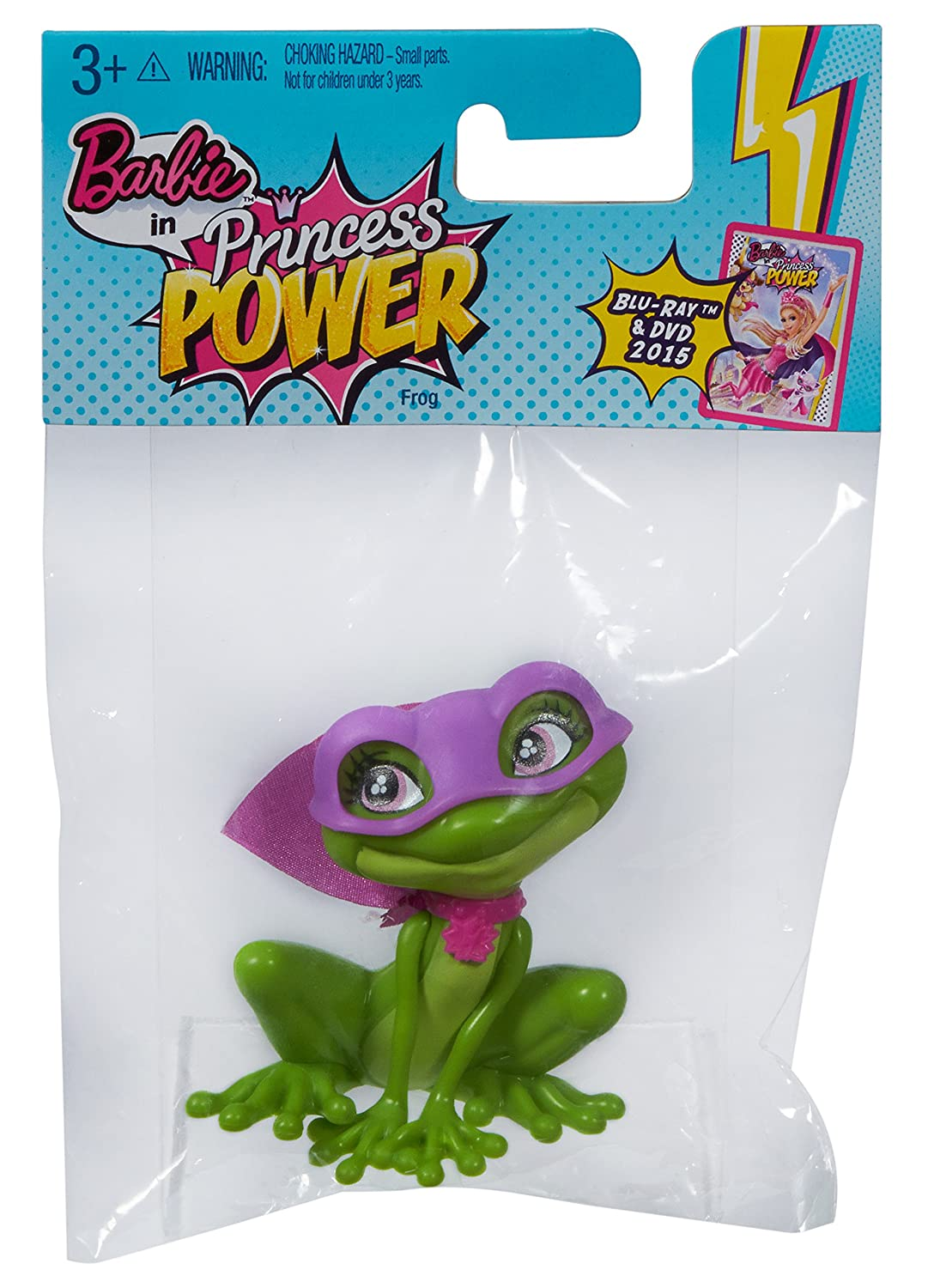 Barbie in Princess Power Magical Pet Frog Mattel CLL45