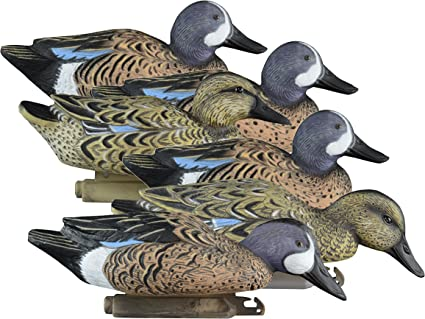 6-Pack Higdon Outdoors Standard Blue-Wing Teal Decoys