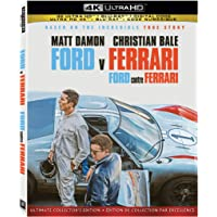 Ford v Ferrari (UHD + BD + Digital Code) [Blu-ray]