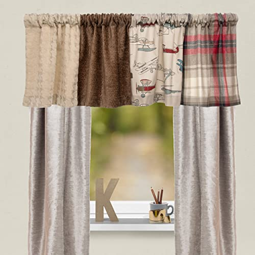 Glenna Jean Fly-by Window Valance, 70 x 18