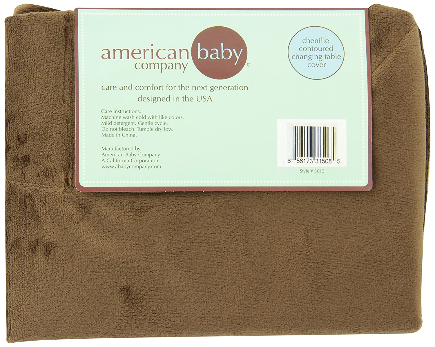 Amazoncom American Baby Company Heavenly Soft Chenille Fitted - American table pad company