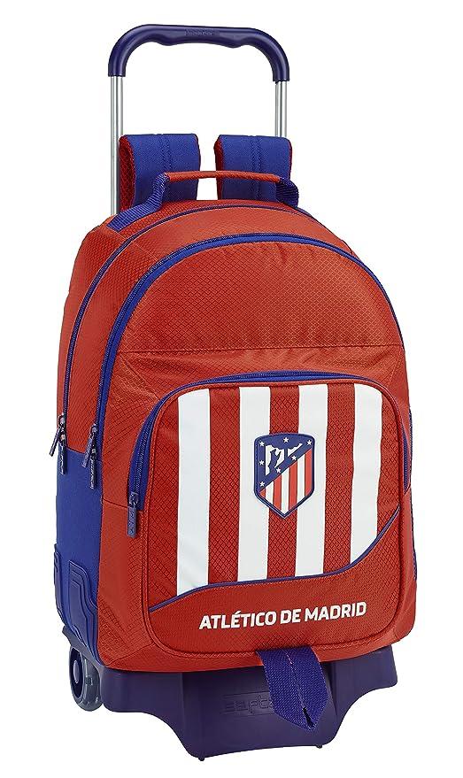 Atletico De Madrid 611845863 2018 Mochila Tipo Casual, 42 cm, 1 litro, Rojo