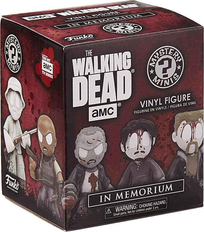 AMC The Walking Dead Funko Mystery Minis Vinyl Figures In Memorium Sophia Human