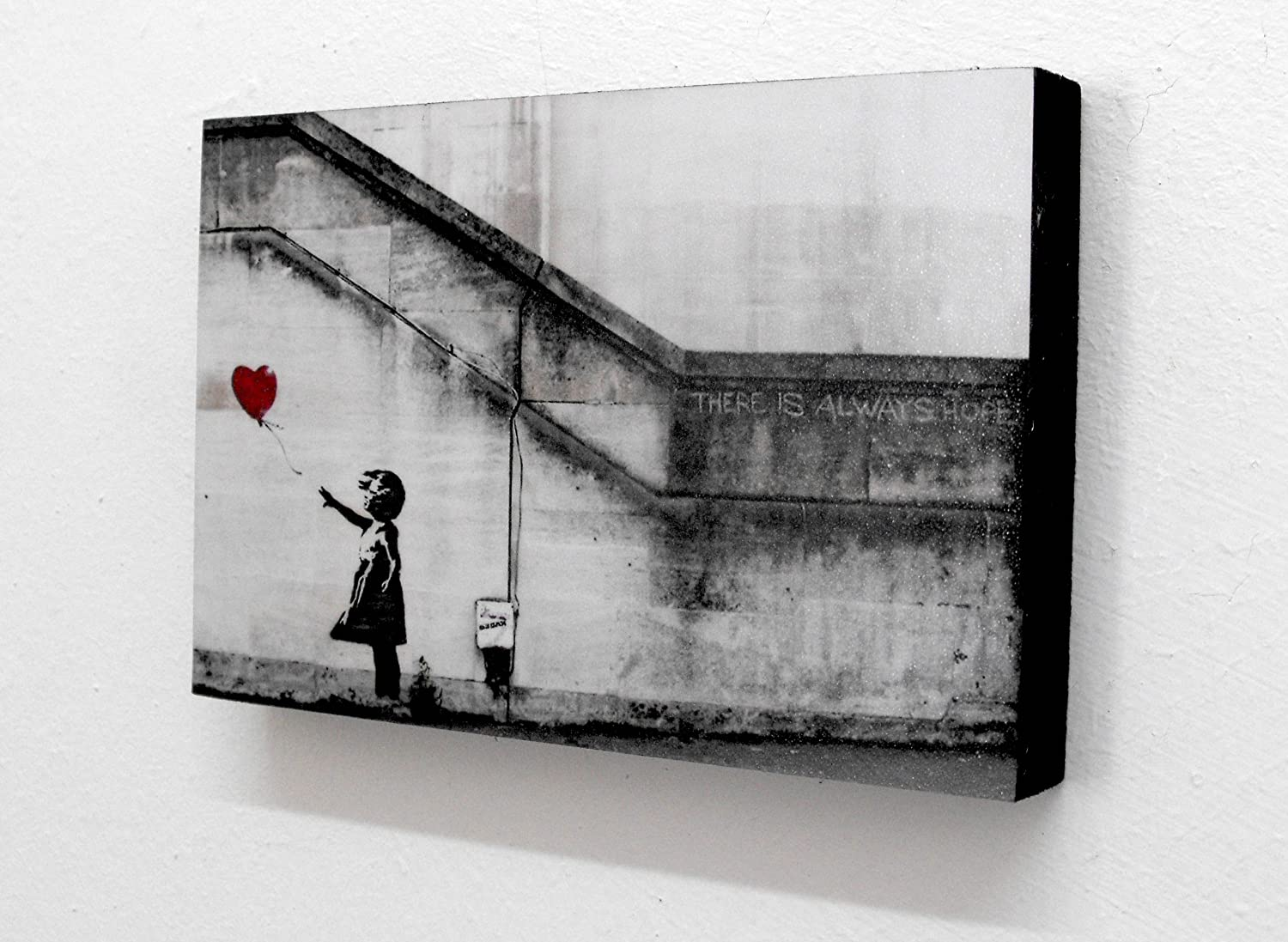 Banksy Balloon Girl There Is Always Hope 6
