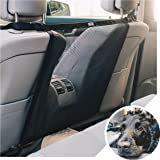 DOGUAL Car Dog Net Barrier - Universal Fit Sturdy Mesh, Easy to Install, Convenient for Air Conditioning, Easy to Clean & wit