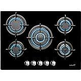 CATA L 705 CI - plaques (Intégré, Gaz, Verre, Noir, Fonte, Rotatif)