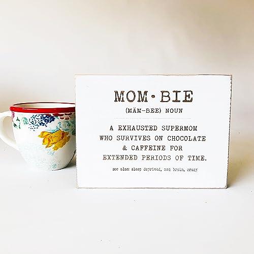 Funny Mom   Bie Definition Sign Motheru0027s Day Gift