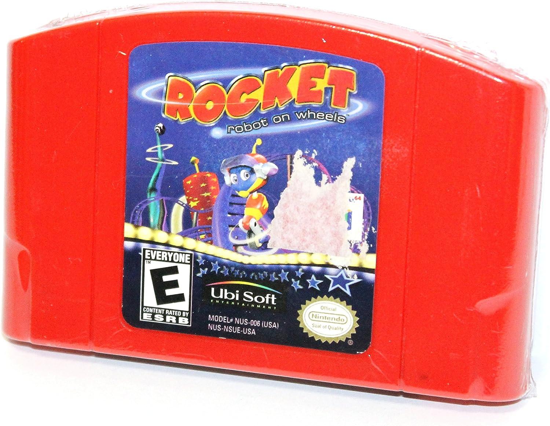 Amazon.com: Rocket Robot on Wheels N64 Nintendo 64 Video ...