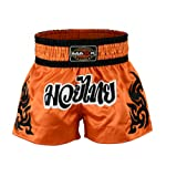 Maxx Muay Thai Boxing Shorts, Kick Boxing, mma shorts Orange