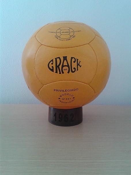 Balon Oficial Futbol del Mundial DE Chile 1962. Modelo Crack ...