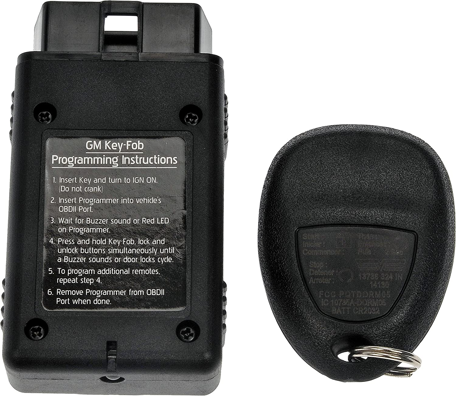 Black Dorman 13736 Keyless Entry Transmitter for Select Models OE FIX