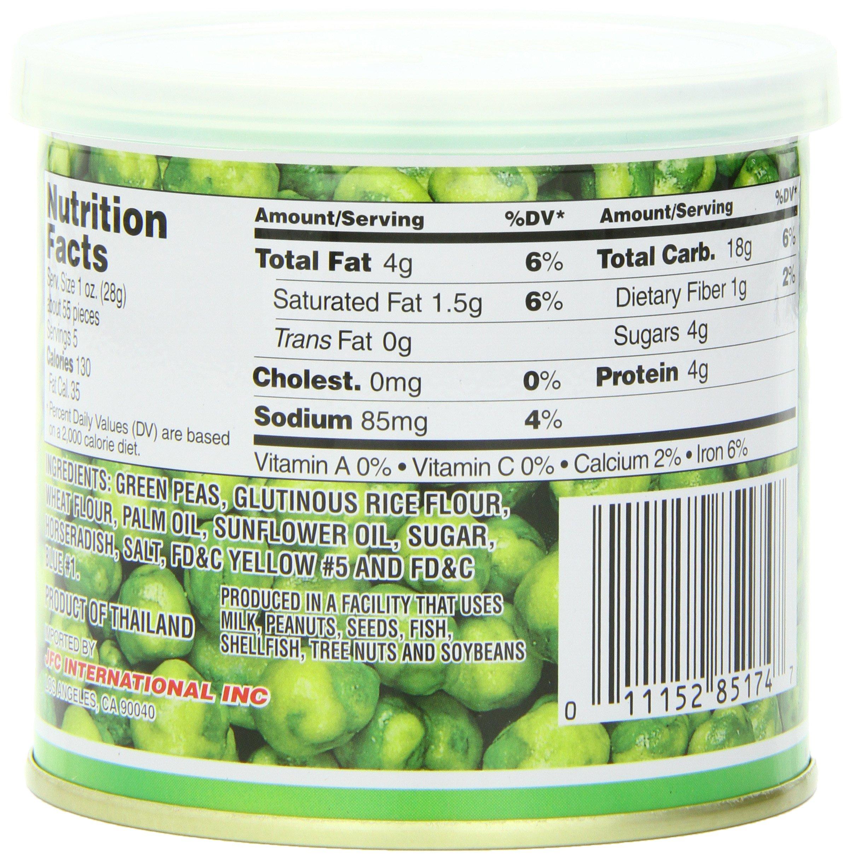 Hapi Hot Wasabi Peas, 4.9-Ounce Tins (Pack of 8) by HAPI (Image #5)