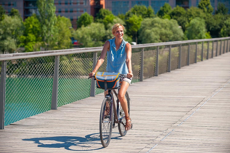 Campingaz Fahrrad K/ühltasche Tropic 9L Isoliertasche mit Schulterriemen k/ühlt bis zu 10 Std Camping oder als Picknicktasche faltbare Lenkertasche zum Einkaufen