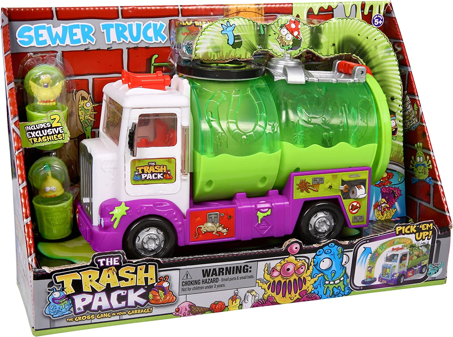 The Trash Pack - Sewer Truck: Amazon.es: Juguetes y juegos