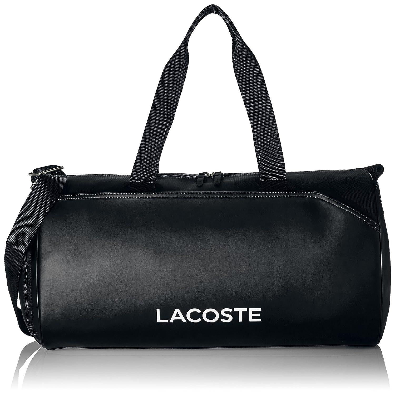 386d3a0aaf36 Amazon.com: Lacoste Men's L Roll Bag, black: Clothing