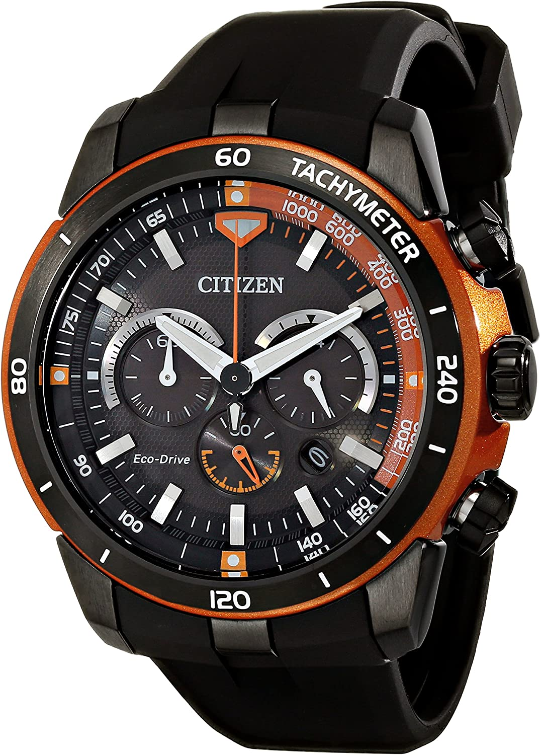 Citizen Eco-Drive Men s CA4154-15E Ecosphere Analog Display Black Watch