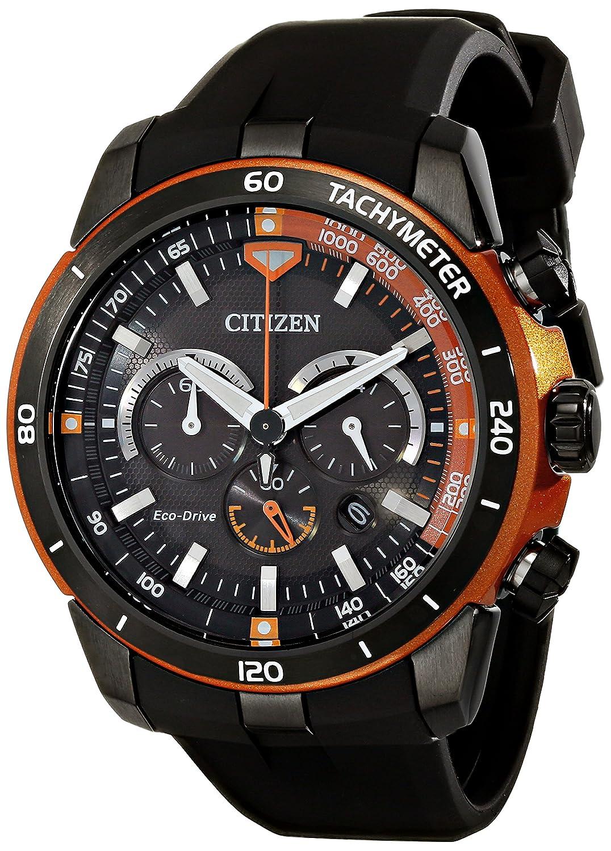 Citizen Eco-Drive Men s CA4154-15E Ecosphere Analog Display Black Watch