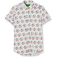 United Colors of Benetton (Z6ERJ) Camicia Camisa para Hombre
