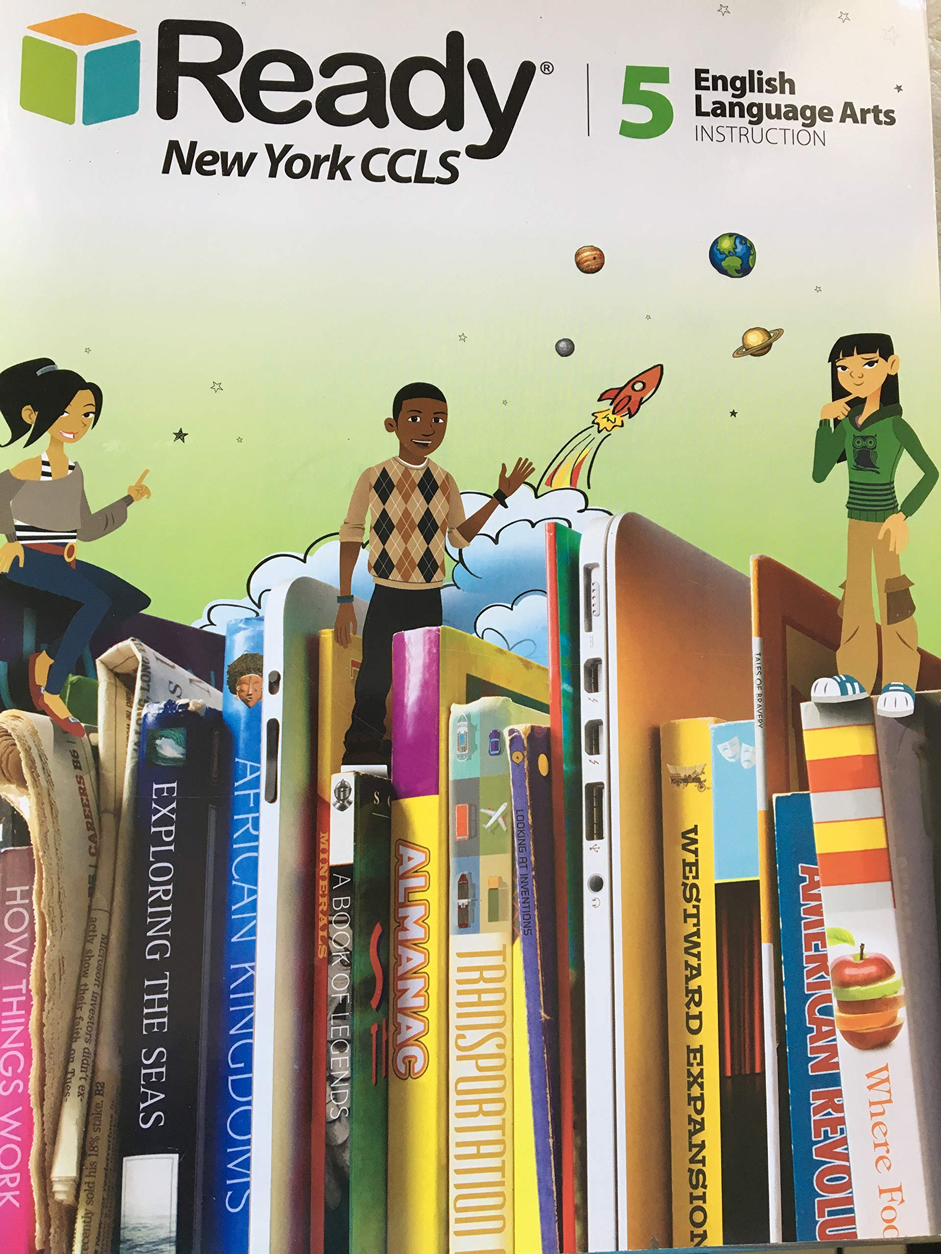Ready New York Ccls 5 English Language Arts Instruction Curriculum Associates 9781495705687 Amazon Com Books