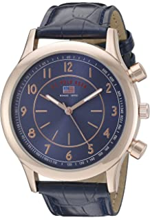 1772112cf07 U.S. Polo Assn. Sport Men s US5218 Rose Gold-Tone Watch with Blue Croco-
