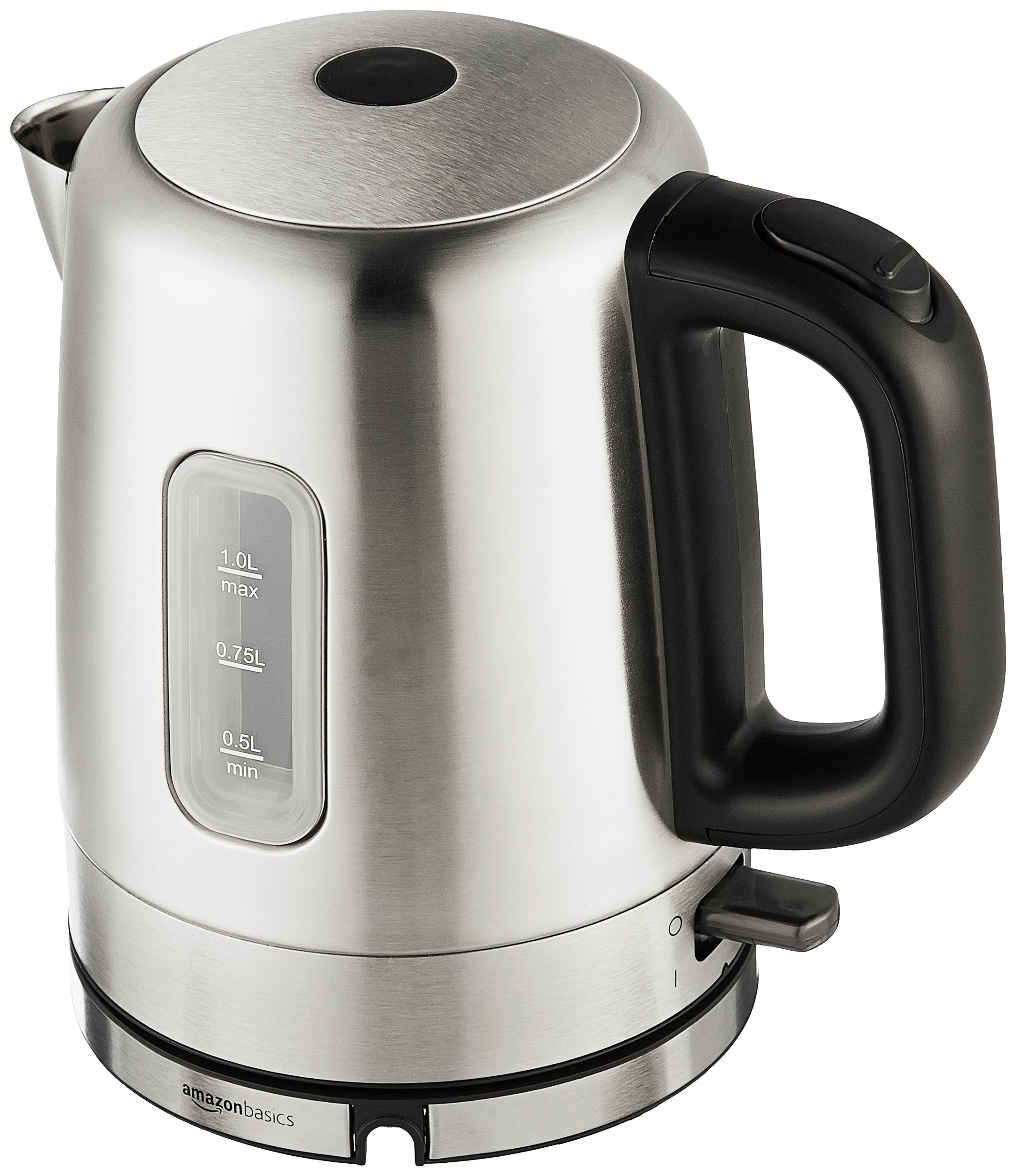 AmazonBasics Stainless Steel Electric Kettle - 1-Liter