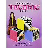 Bastien Piano Basics: Technic Level 1