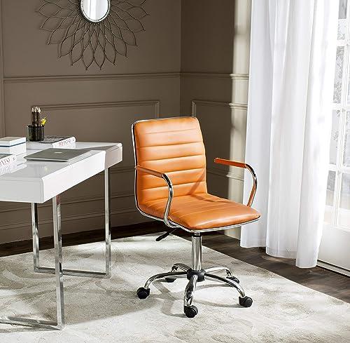 Safavieh Home Collection Jonika White Desk Chair