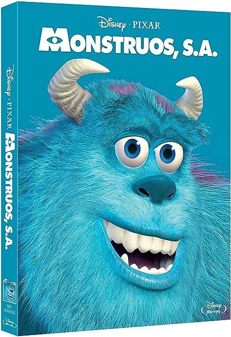 Monstruos S.A. [Blu-ray]: Amazon.es: Personajes animados ...