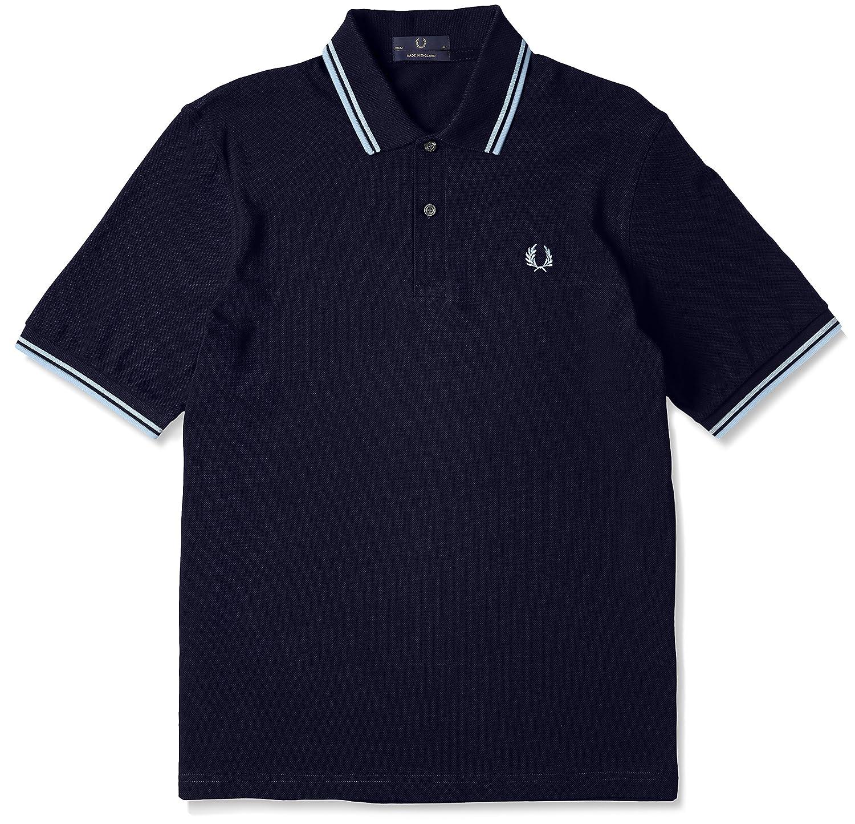 [フレッドペリー]ポロシャツ TWIN TIPPED FRED PERRY SHIRT M12N メンズ B00714QKNE UK 36-(日本サイズS相当)|795NAVY / ICE 795NAVY / ICE UK 36-(日本サイズS相当)