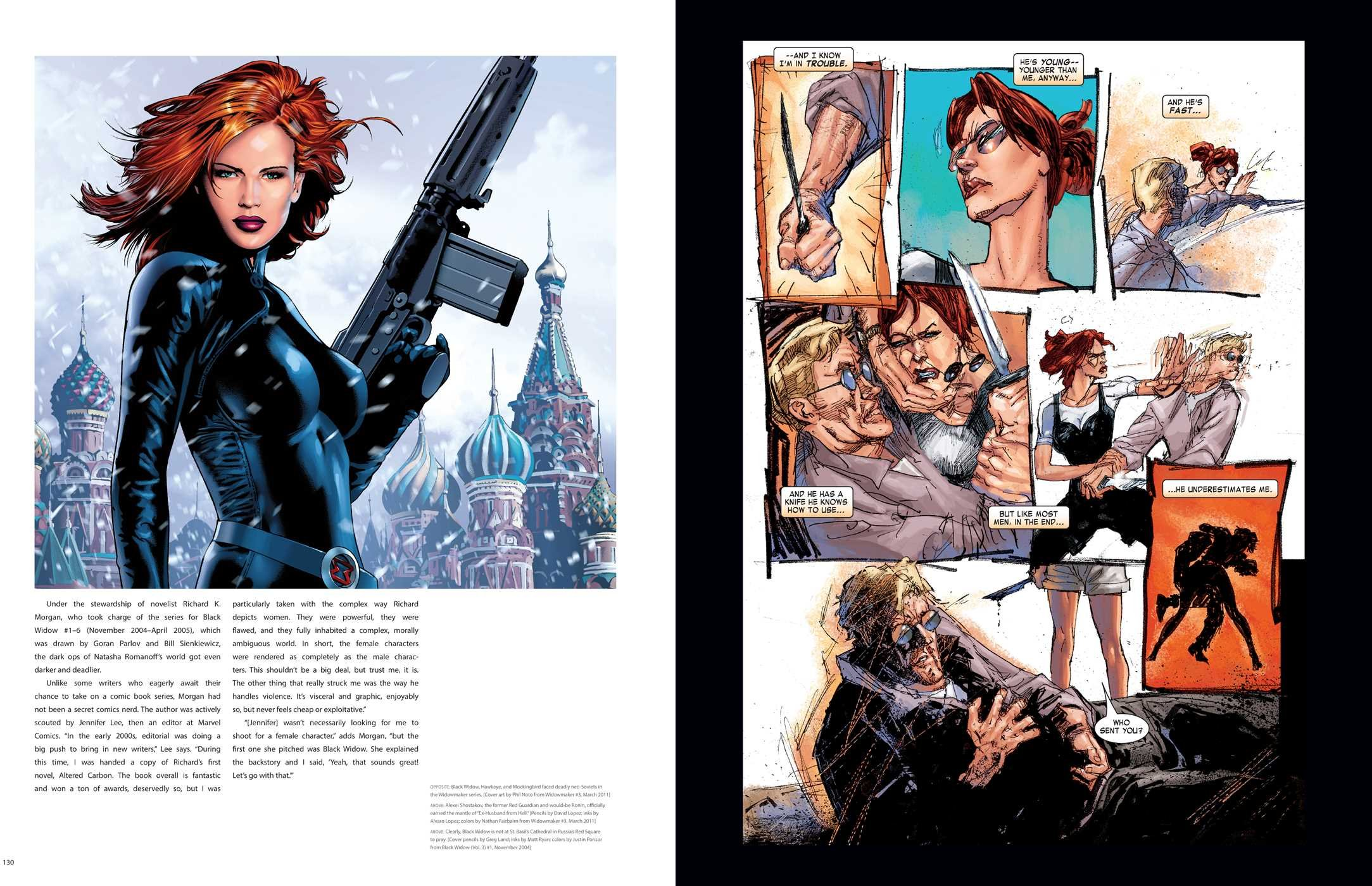 Amazon com: Marvel's The Black Widow: Creating the Avenging