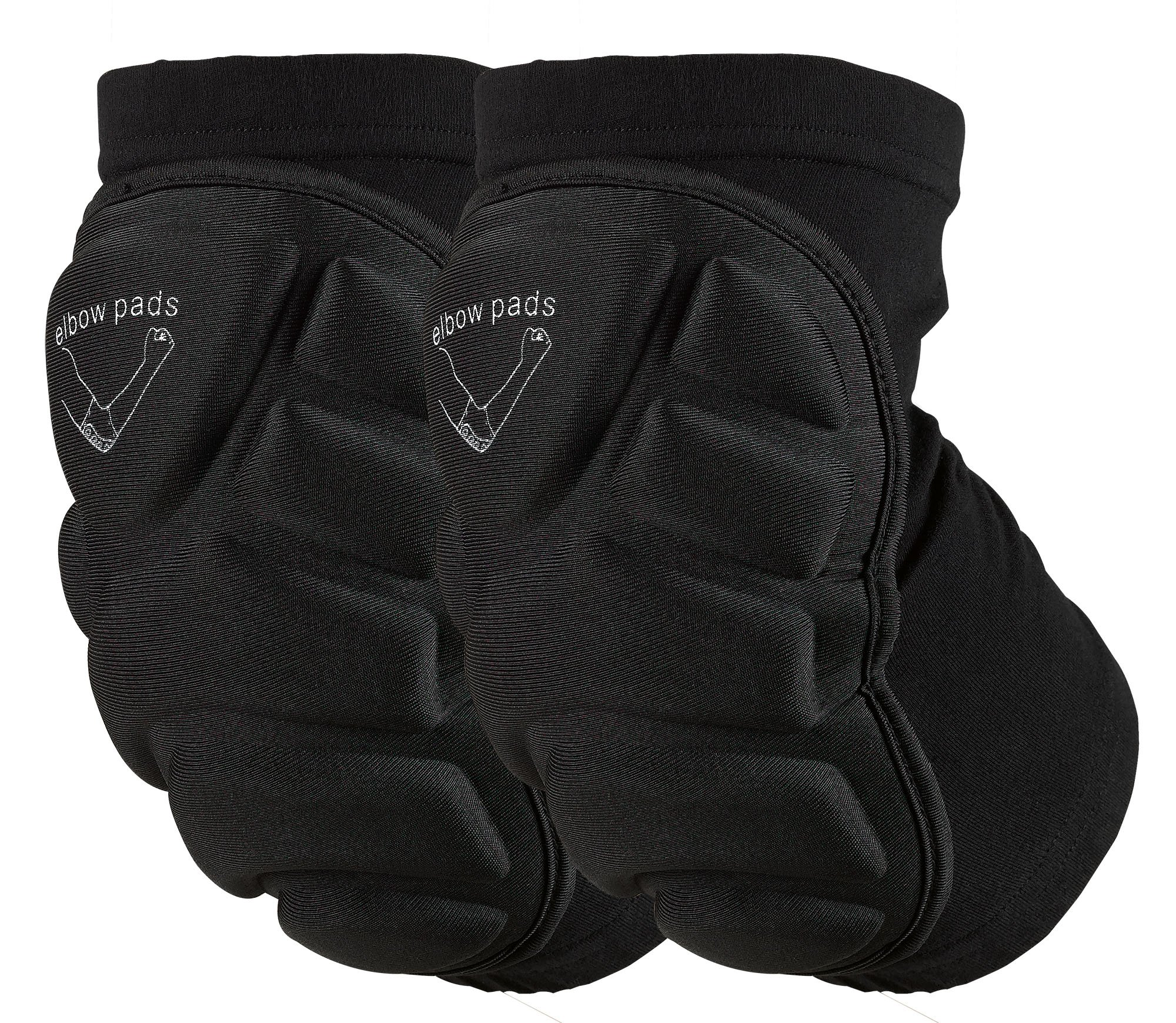 OMID Elbow Pads - Breathable Lightweight Padded Elbow Sleeve for Skiing, Skating, Skateboarding & cycling (L)