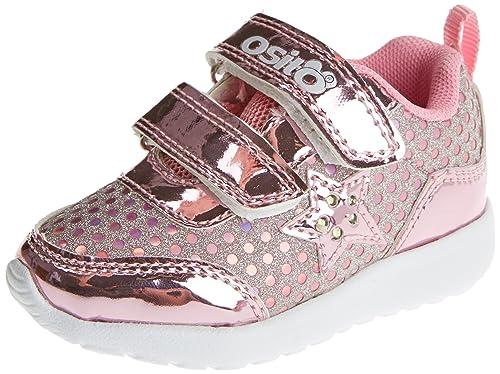Conguitos IVS14205, Zapatillas sin Cordones para Niñas, Plateado (Silver), 24 EU